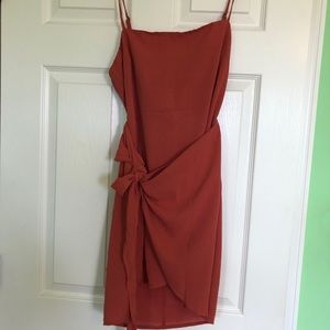 White Fox NWT Wrap Dress